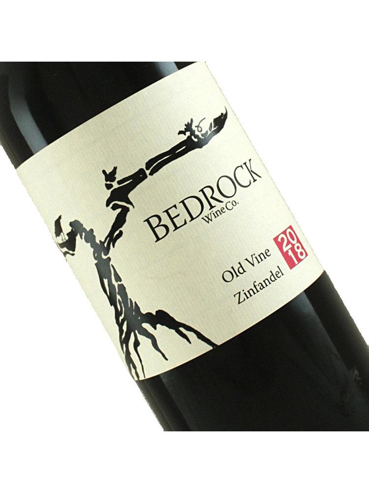 Bedrock Wine 2018 Old Vine Zinfandel, California