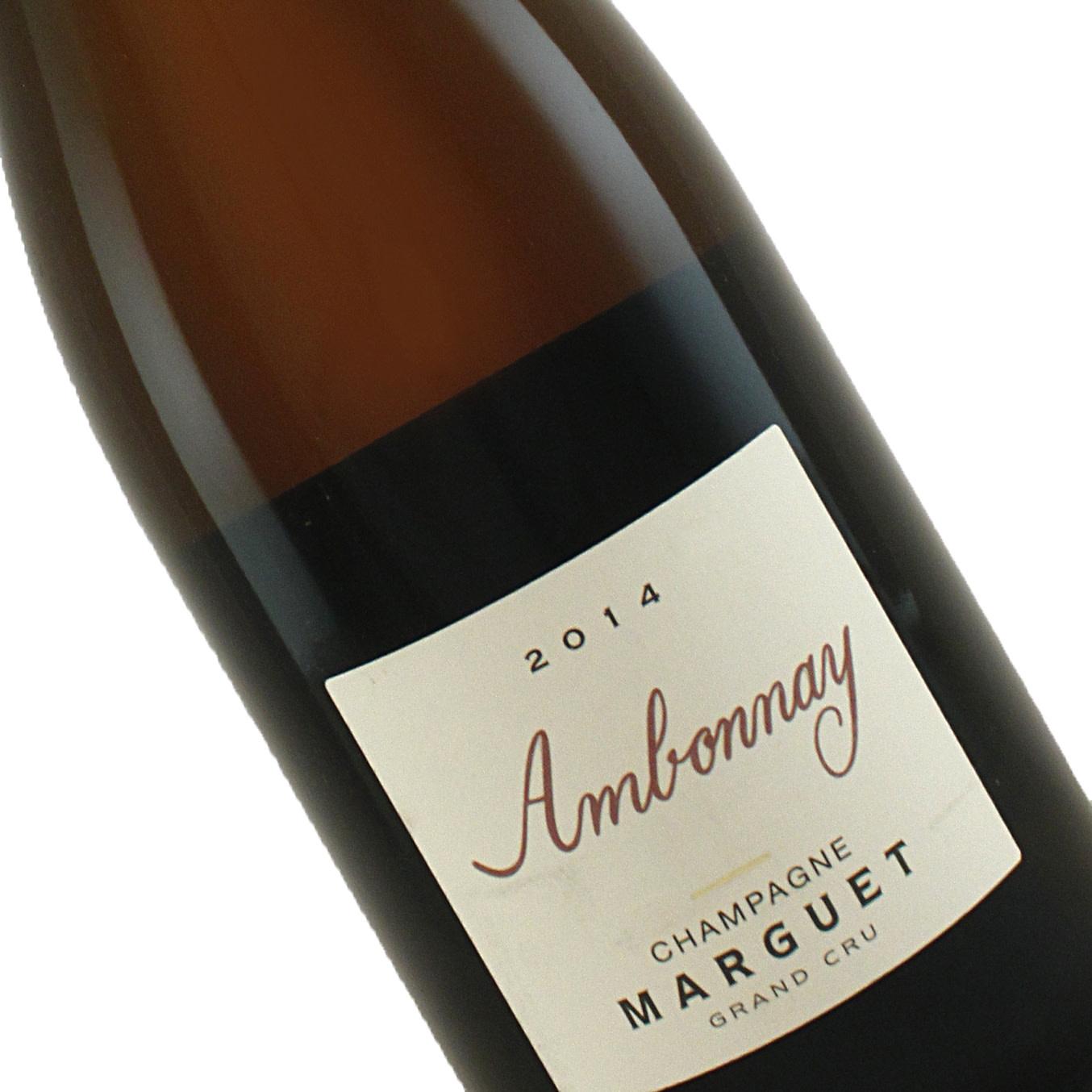 "Marguet 2014 Grand Cru ""Ambonnay"" Extra Brut Rose Champagne"