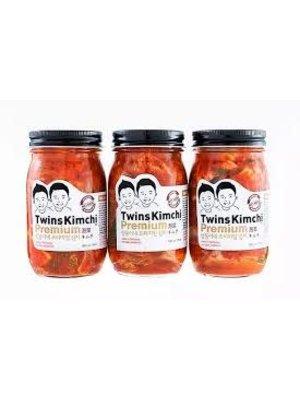 Twins Kimchi - Premium Real Seoul Style 16oz., California