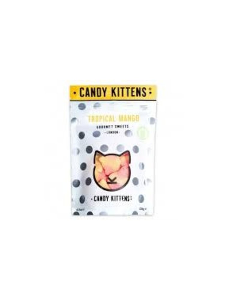 "Candy Kittens ""Tropical Mango"" Gourmet Gummies 4.4oz., London"