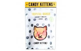 "Candy Kittens ""Tropical Mango"" Gourmet Gummies 4.4oz., London"