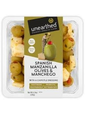 Unearthed  Spanish Manzanilla Olives & Manchego w/Chipotle Dressing 6.7oz.
