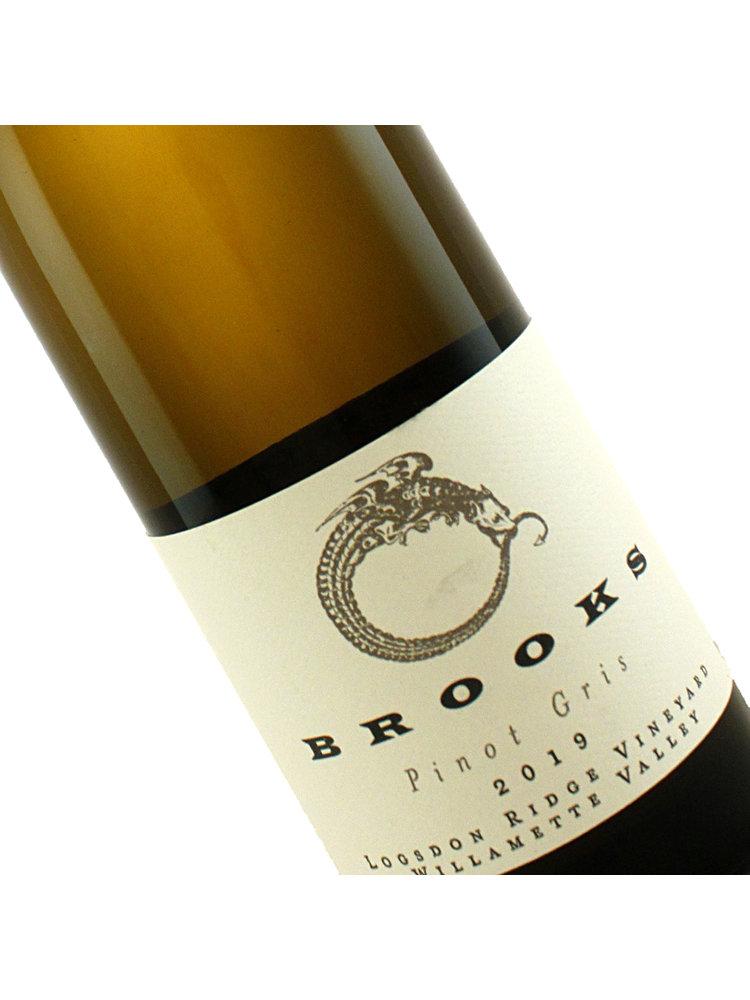 Brooks 2019 Pinot Gris Logsdon Ridge Vineyard Willamette Valley, Oregon