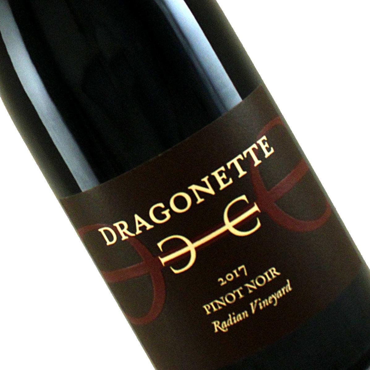 Dragonette Cellars 2017 Pinot Noir Radian Vineyard, Sta. Rita Hills