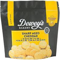 Dewey's Sharp Aged Cheddar Crackers, North Carolina