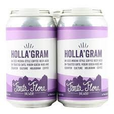 "Fonta Flora ""Holla'gram"" Iced Mocha Coffee 12oz. Can - Nebo, NC"