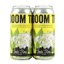 "Fonta Flora Brewery ""Doom Tree"" Kolsch-Style Lager w/ Elderflower & Lemon 16oz. Can - Nebo, North Carolina"