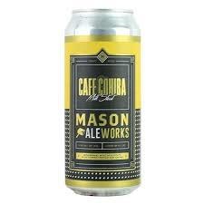 "Mason Ale Works ""Cafe Cohiba"" Milk Stout 16oz. Can - San Marcos, CA"