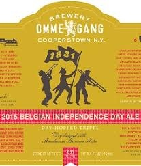 """Ommegang Brewery """"1831"""" Belgian National Day Ale 12oz. Cooperstown, NY"""