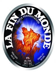 "Unibroue ""La Fin Du Monde"" Belgian-Style Triple Ale 750ml. Bottle - Chambly, Canada"