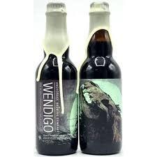 "Anchorage Brewing ""Wendigo"" Double-Oaked Black Barleywine 375ml. Bottle - Anchoraage, Alaska"