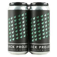"""Black Project """"Badger"""" Sour Ale w/Plum & Primitivo Grape Juice 16oz. Denver, CO"""