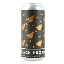 "Black Project ""Kipper"" Sour Wheat Ale w/ Pineapple & Pomegranate 16oz. Denver, CO"