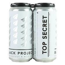 "Black Project ""Top Secret"" Wild-Fermented Hard Seltzer w/ Tempranillo & Cab Franc Grapes 16oz. Can - Denver, CO"