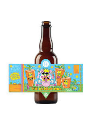 """Cellador Ales """"The Carrot King"""" Belgian Inspired Wild Ale w/Carrot Juice 375ml. Bottle - California"""