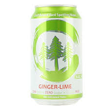"""Eel River Brewing """"Clarity - Ginger Lime"""" Hard Sparkling Water 12oz. , California"""
