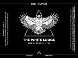"Holy Mountain Brewing ""The White Lodge"" Belgian-Style White Ale 16oz. Can - Seattle, WA"