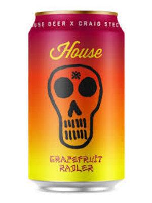 "House Beer X Craig Stecyk ""House"" Grapefruit Radler 12oz. Venice, CA"