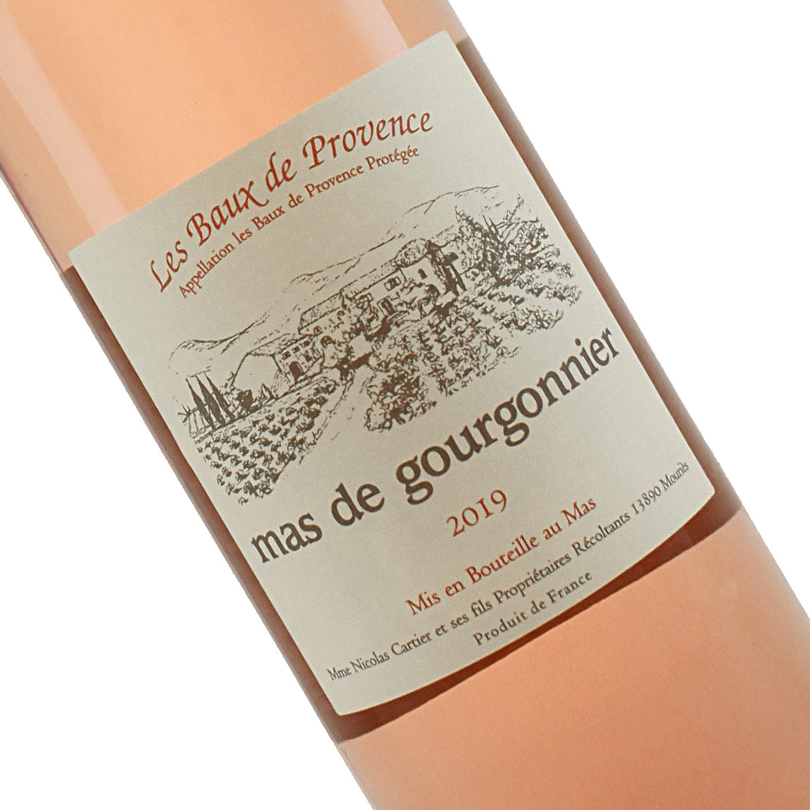 Mas De Gourgonnier 2019 Rose Les Baux de Provence
