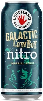 "Left Hand Brewing ""Galactic Cowboy"" Nitro Imperial Stout 16oz., Colorado"