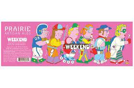 """Prairie Artisan Ales """"Weekend"""" Imperial Stout w/Coconut, Cocao & Marshmallow 12oz. bottle, Oklahoma"""
