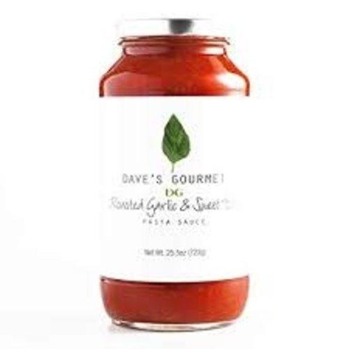 Dave's Gourmet Organic Roasted Garlic & Sweet Basil Pasta Sauce