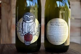 """Art + Science """"West Valley Cider"""" Cider 750ml bottle- Rickreall, Oregon"""