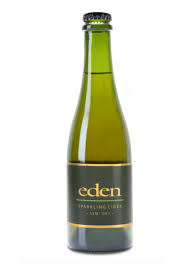 """Eden """"Semi Dry"""" Sparkling Cider 375ml bottle- Newport, Vermont"""