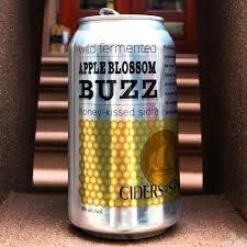 "Viuda de Angelon Ciders of Spain ""Apple Blossom Buzz"" 12oz. can"