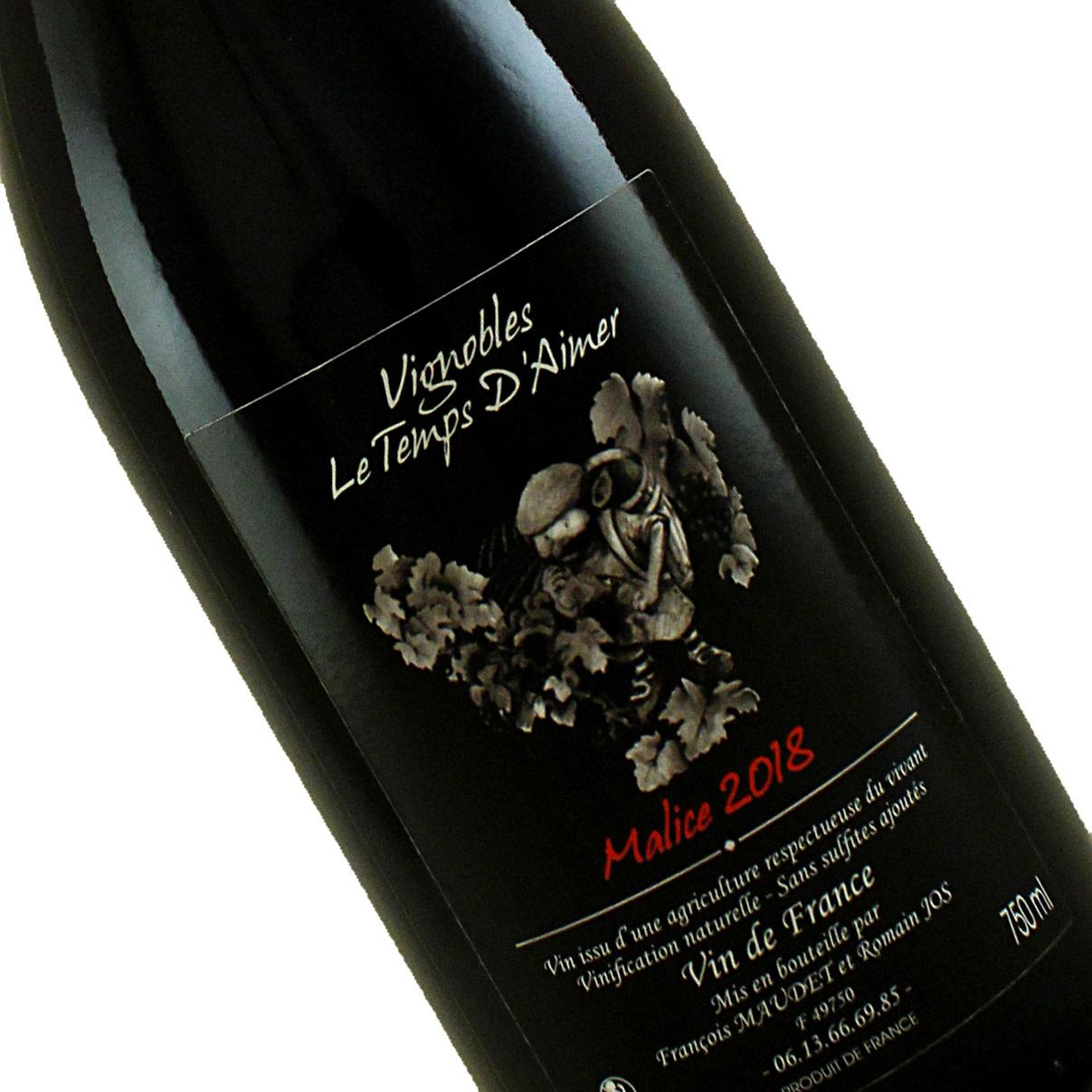 "D'Aimer 2018 ""Malice"" Red Blend , Vin de France"