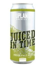 """Upland Brewing """"Juiced In Time"""" India Pale Ale 16oz. Can - Upland, CA"""