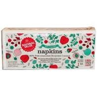 Natural Value 100% Recycled Napkins, 120 count