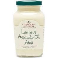 Stonewall Kitchen Lemon & Avocado Oil Aioli 10.25oz., Maine