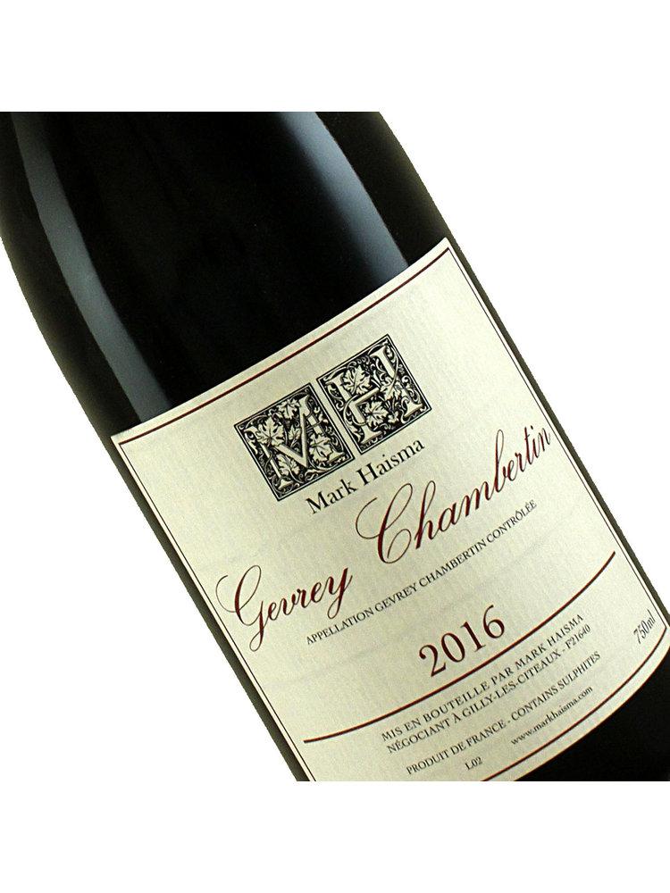 Mark Haisma 2016 Gevrey Chambertin, Burgundy