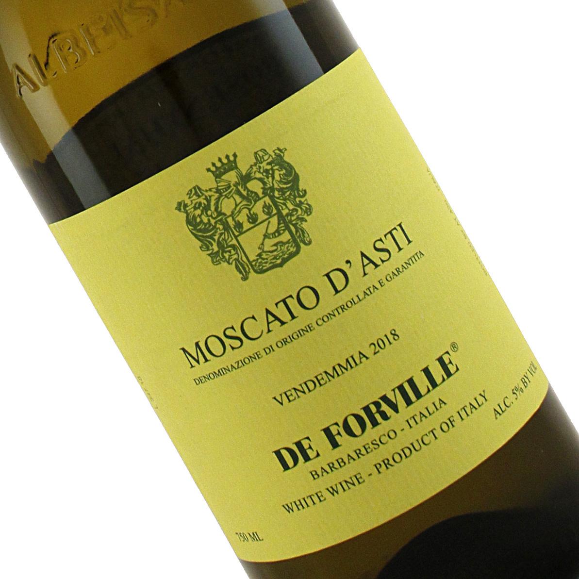 De Forville 2018 Moscato D'Asti, Piedmont