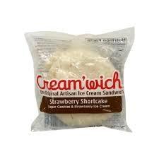 Cream'wich Strawberry Shortcake Ice Cream Sandwich, Los Alamitos, California