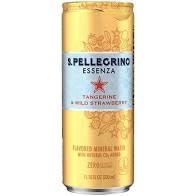 San Pellegrino Essenza Tangerine & Wild Strawberry Flavored Mineral Water 330ml