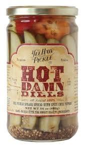 Yee Haw Pickle Co. Hot Damn Dills 24oz., Colorado