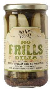 Yee Haw Pickle Co. No Frills Dills 24oz., Colorado
