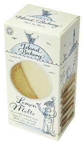 Island Bakery Lemon Melts - Lemon Cookies dipped in White Chocolate, Isle of Mull, Scotland