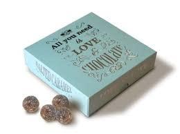 Beech's Fine Chocolates Salted Caramel Truffles 3.5oz., UK