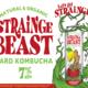 "Chico Fermentation Project Sierra Nevada ""Strainge Beast"" Passionfruit/ Blood orange kombucha 12oz can- Chico, CA"