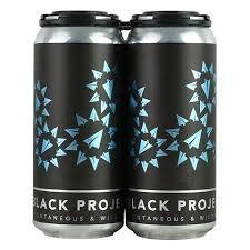 "Black Project ""Shadow Factory"" Sour Wheat Ale w/Blackberry & Raspberry 16oz. Can - Denver, CO"