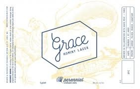 """Perennial Brewing """"Grace"""" Hominy Lager 16oz can- St. Louis, MO"""