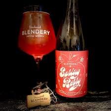 """Beachwood Blendery """"Spring Berry"""" Belgian-Style Sour Ale w/Raspberries & Strawberries 500ml. Bottle - Long Beach, CA"""