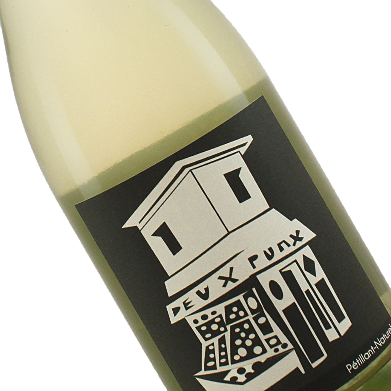 Deux Punx 2019 Dry Muscat Blanc Pet-Nat- Contra Costa County, CA