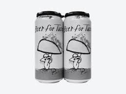 """Off Color Brewing """"Beer For Tacos"""" Gose-Style Beer w/Lime Juice & Salt 16oz. Can - Chicago, IL"""