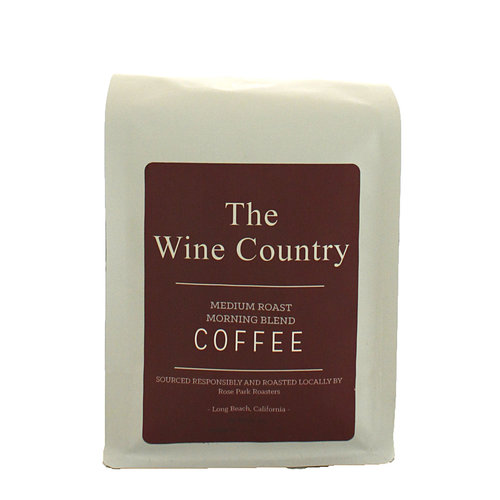 Rose Park Coffee Roasters - The Wine Country Blend Whole Bean Coffee 12oz. Bag Long Beach, CA