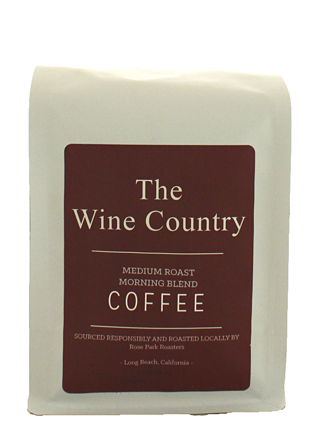 Rose Park Coffee Roasters - The Wine Country Blend Whole Bean 12oz. Bag Long Beach, CA