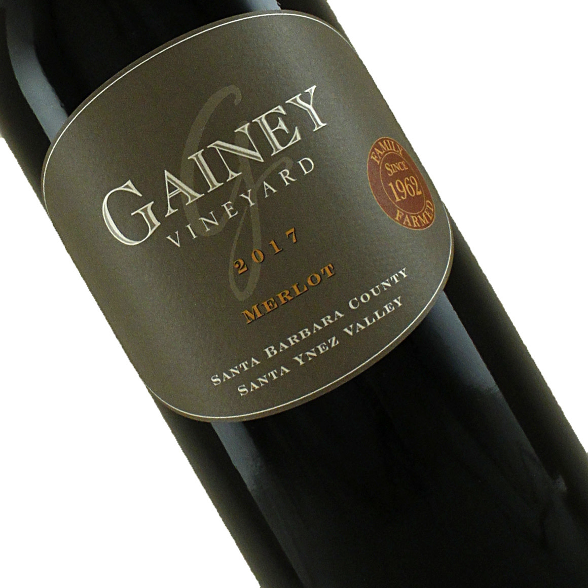 Gainey 2017 Merlot Santa Ynez Valley